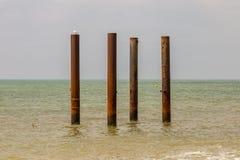 Embarcadero del oeste, Brighton, Reino Unido foto de archivo