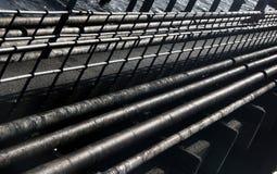 Embarcadero del petróleo Fotos de archivo