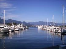 Embarcadero del puerto Foto de archivo libre de regalías