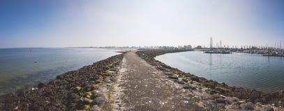 Embarcadero del puerto Foto de archivo