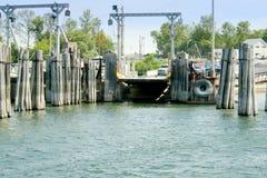 Embarcadero del transbordador en Vermont Imagen de archivo