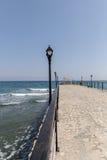 Embarcadero en Amathus en Limassol Fotografía de archivo