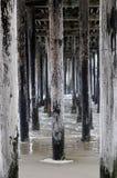 Embarcadero en California imagen de archivo