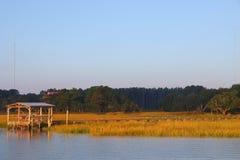 Embarcadero en Carolina del Sur fotos de archivo libres de regalías