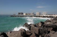 Embarcadero en Destin, la Florida Fotos de archivo
