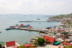 Embarcadero en Koh Sri chang Fotografía de archivo