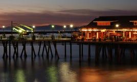 Embarcadero en Redondo Beach Imagenes de archivo