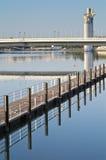 Embarcadero en Sevilla fotografía de archivo libre de regalías
