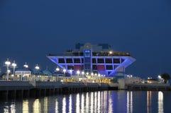 Embarcadero en St Petersburg, la Florida Fotografía de archivo libre de regalías