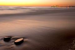 Embarcadero en Swakopmund 2 imágenes de archivo libres de regalías