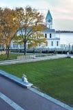 Embarcadero histórico un New York City Imágenes de archivo libres de regalías