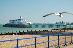 Embarcadero Inglaterra de Bournemouth Fotografía de archivo libre de regalías