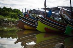 Embarcadero malasio hermoso Imagen de archivo libre de regalías