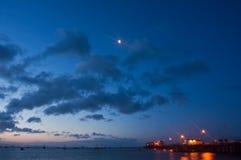 Embarcadero portuario del San Luis Fotos de archivo libres de regalías