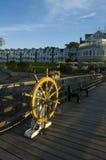 Embarcadero, puerto de la barra Fotos de archivo