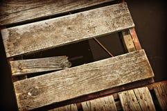 Embarcadero quebrado Imagenes de archivo