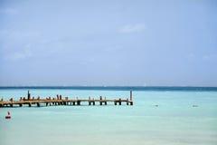 Embarcadero tropical Fotografía de archivo
