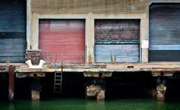 Embarcadero vacío Foto de archivo libre de regalías