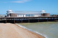 Embarcadero victoriano de Hastings Fotografía de archivo libre de regalías