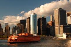 Embarcadouro de Staten Island Ferry em Manhattan Imagens de Stock Royalty Free