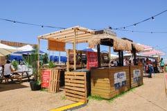 Embargo Bar: Outdoor Pop-up Eatery Stock Photos