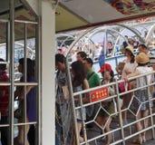 Embarkation туристов стоковые изображения