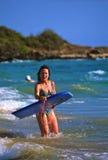Embarque de la boogie en Maui Imagenes de archivo