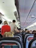 Embarque del aeroplano fotos de archivo