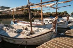 Embarque typique de Majorque en Espagne Photographie stock libre de droits