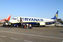 Embarquement Ryanair Images stock