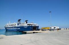 Embarquement sur le ferry-boat Photographie stock