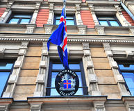 Embassy of Iceland in Helsinki Royalty Free Stock Photo