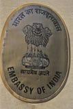 Embassy of India on Embassy Road, Massachusetts Ave., Washington, DC Royalty Free Stock Photos