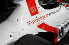 Embassy Racing Shadow F1 Grand Prix car. Stock Image