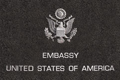 Embassy Royalty Free Stock Photo