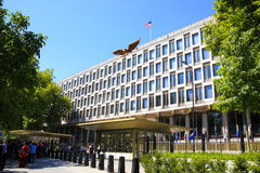The Embassy of the United States London Royalty Free Stock Photos