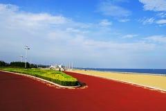 Embeleze o litoral Fotografia de Stock