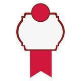 Embellished emblem icon image Stock Photo