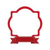 Embellished emblem icon image Stock Image