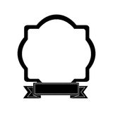 Embellished emblem icon image Stock Photos