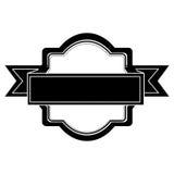 Embellished emblem icon image Royalty Free Stock Photography