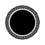 Embellished emblem icon image Royalty Free Stock Photos