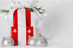 Embellished gifts Royalty Free Stock Image