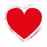 Embellished heart cartoon icon image Stock Images