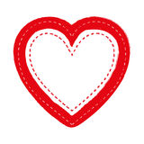 Embellished heart cartoon icon image Stock Photo