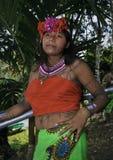 Embera Frau Stockfotografie