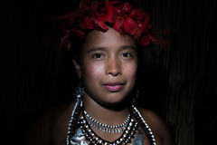 Embera Tribe Royalty Free Stock Images