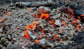embers Изображение природы для предпосылки стоковая фотография rf