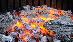 Embers. Royalty Free Stock Photos