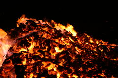 Embers 8 Royalty Free Stock Photography